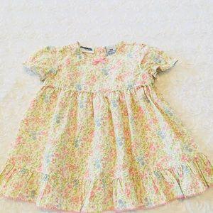 Pretty in yellow little girls dress